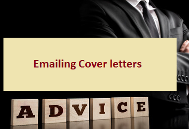 E-mailing Cover Letters