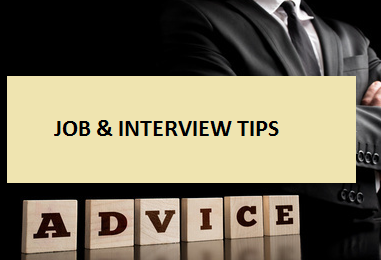 Job And Interview Tips