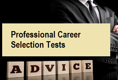 Professional Career Selection Tests
