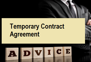 Temporary Contract Agreement