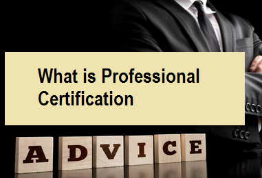 What is Professional Certification